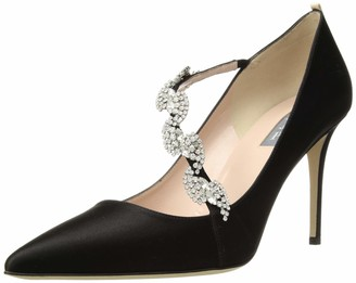 Sarah Jessica Parker Women's Noelle Pointed Toe Crystal Embellished Dress Pump