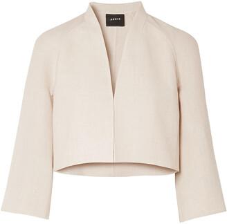 Akris Romain Linen And Wool-blend Jacket
