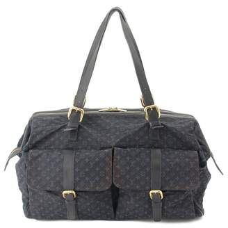 Louis Vuitton Louise Navy Cloth Travel bags