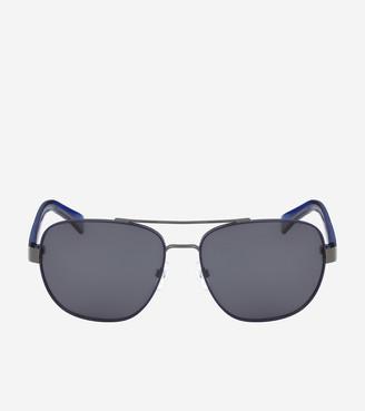 Cole Haan Metal Navigator Sunglasses