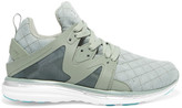 Athletic Propulsion Labs - Ascend Mesh And Rubber Sneakers - Gray green