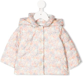 Bonpoint Floral Print Padded Coat