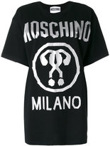 Moschino question mark logo T-shirt