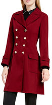 Vince Camuto Double-Breasted Long Coat