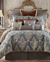 Waterford Hilliard Queen Duvet Cover