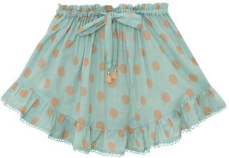 Zimmermann Kirra Tie Waist Skirt