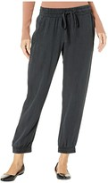 Bella Dahl Jogger Pants (Black) Women's Casual Pants