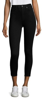 Paige Margot High-Rise Crop Ultra Skinny Jeans