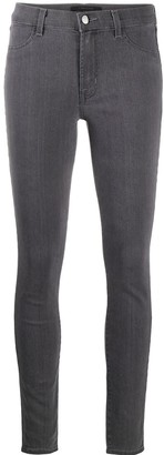 J Brand Purity high-rise skinny jeans