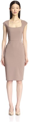 Society New York Women's Extended Cap Sleeve Dress