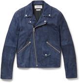 Loewe - Suede Biker Jacket