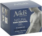 Aussie Nad's No-Heat Hair Removal Gel for Men (1 Kit) by
