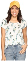 Lucky Brand Floral Vines Tee