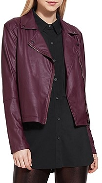 Lysse Faux Leather Moto Jacket