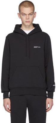 A.P.C. Black JJJJound Edition Justin Hoodie