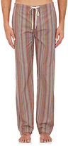 Paul Smith Men's Striped Cotton Pajama Pants