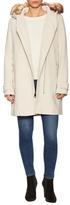Paloma Wool Faux Fur Trim Coat