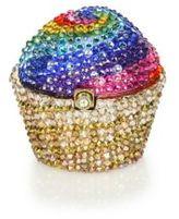 Judith Leiber Rainbow Cupcake Pillbox
