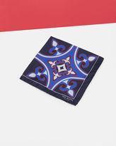 TILEPOK Geo print silk pocket square