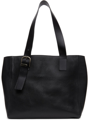 Ann Demeulemeester Black Leather Tote