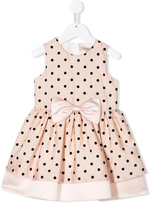 Hucklebones London Polka-Dot A-Line Dress