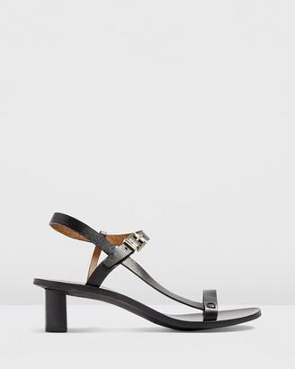 Topshop Venus Asymmetric Sandals - Wide Fit