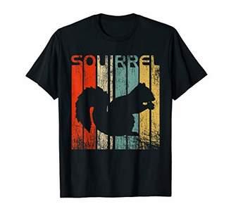 Squirrel Vintage T-Shirt Retro Squirrel Lovers Fun Tee Shirt