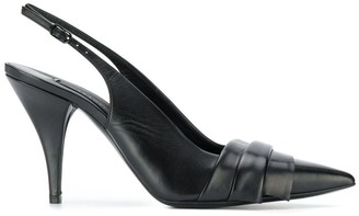 Casadei Stiletto Slingback Shoes