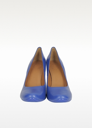 Marc by Marc Jacobs Electric Blue Leather Pump