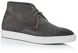 To Boot Men's Grid Suede Chukka Boots