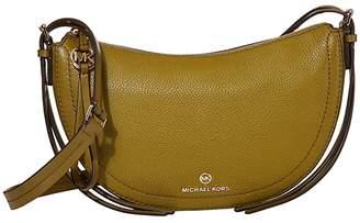 MICHAEL Michael Kors Camden Small Messenger (Black) Handbags