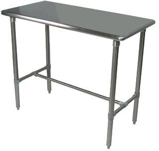 "John Boos Cucina Americana Classico Pub Table Tabletop Size: 48"" W x 24"" D"
