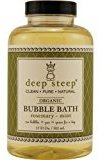 Deep Steep by ROSEMARY-MINT ORGANIC BUBBLE BATH 17 OZ ( Package Of 2 )