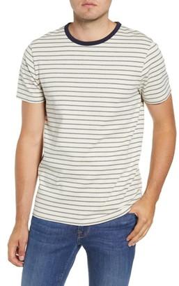 Frame Slim Fit Stripe T-Shirt