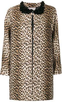 Antonio Marras leopard printed coat
