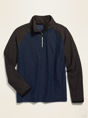Old Navy Ultra-Soft Breathe ON 1/4-Zip Performance Top for Boys
