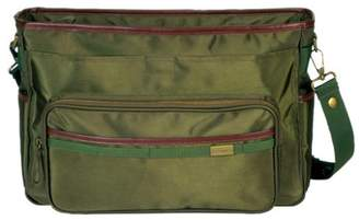 Little Company Exclusive Shoulder Bag in Olive with Leather Finish