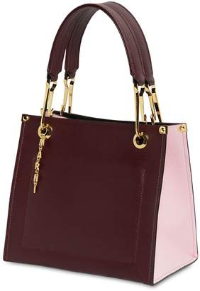 Marni SMALL GRIP SAFFIANO LEATHER TOTE BAG