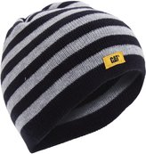 Caterpillar Childrens/Kids Striped Knit Beanie Hat