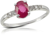 Incanto Royale Ruby and Diamond 18K Gold Ring