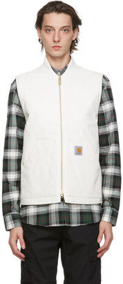 Carhartt Work In Progress White Rigid Vest