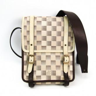 Louis Vuitton Beige Cloth Bags