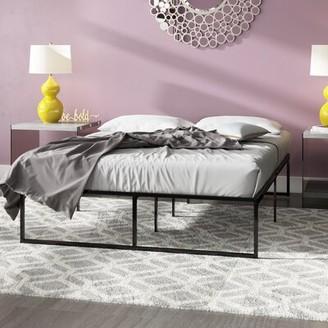 Bigler Bed Frame Alwyn Home Size: King
