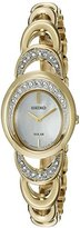Seiko Women's 'Jewelry' Quartz Stainless Steel Dress Watch (Model: SUP298)