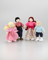 """Le Toy Van My Family"""" Doll Family of Four"""