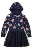 Nevada Girls Floral Hooded Tutu Dress