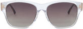 Linda Farrow Luxe Clear Frame Sunglasses