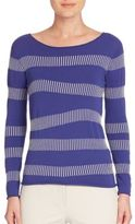 Armani Collezioni Tally Striped Top