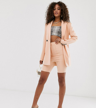 ASOS DESIGN tall skinny fit suit shorts
