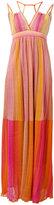 M Missoni striped maxi dress